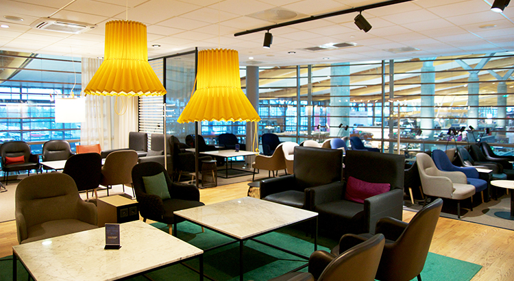 SAS Lounge in Oslo (F: miles around_Bigstock)
