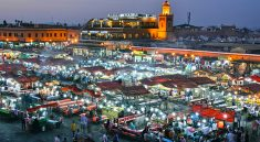 Jemaa El-fnaa Platz in Marokko (Bigstock.com / Monticello)