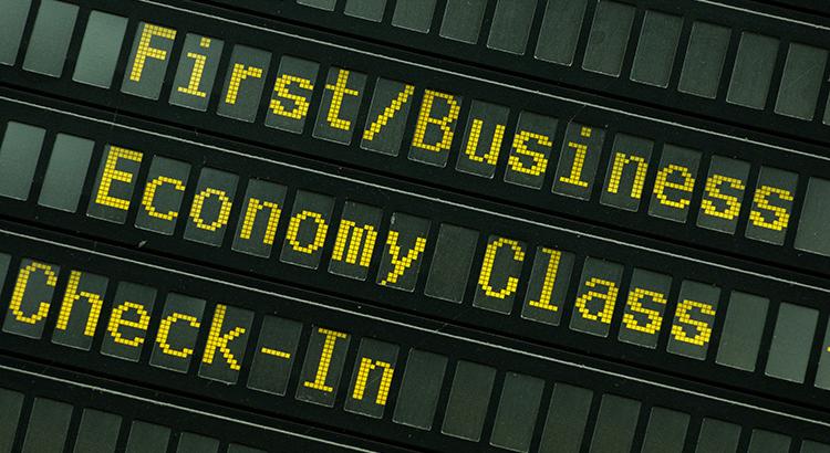 Fliegen: First Class am Ende? (F: Bigstockphoto.com / Lammeyer)