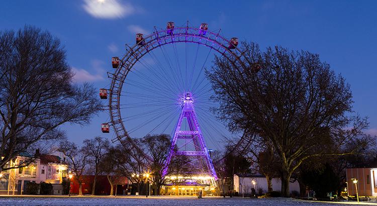 Wiener Riesenrad im Winter (F: Bigstockphoto.com / MikeCphoto)