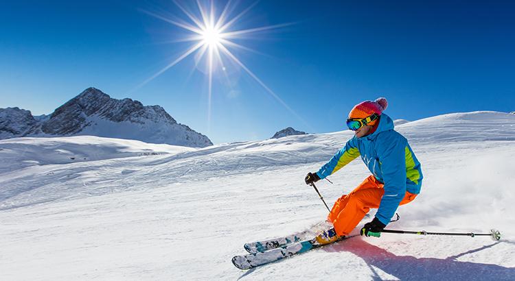 Skifahrer (Bigstock / kesu01)