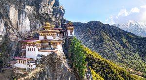 "Taktshang Goemba in Bhutan, genannt ""Tiger´s Nest"" (F: Bigstock / ultramansk)"