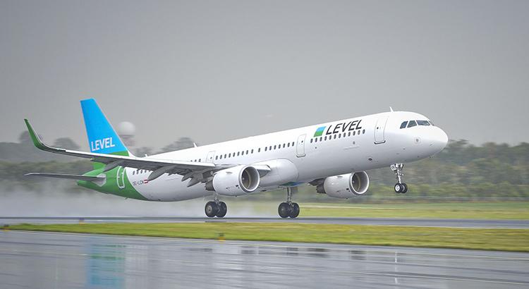 Take-off des Level-Jets in Wien. (Foto: beigestellt / Level)