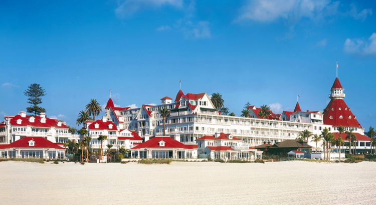 Manche mögen´s heiß: Hotel Coronado in San Diego (F: beigestellt)
