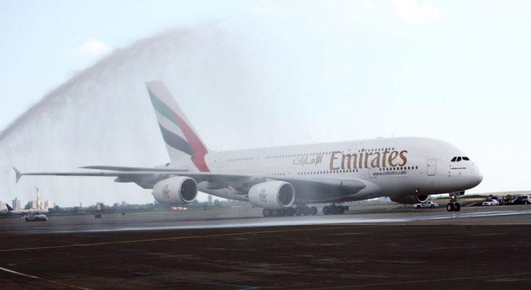 Erstflug eines A380 bei Emirates vor 10 Jahren. (F: Emirates / beigestellt)