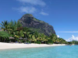 Berg Le Morne auf Mauritius