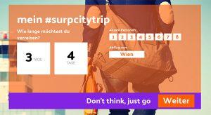 Screensho Surp.travel