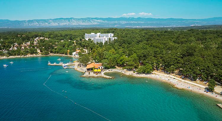 Krk Insel Kroatien Ferienvilla Reisekompass