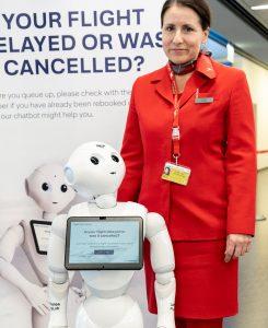 AUA-Roboter Paul Pepper (Foto: AUA - beigestellt)