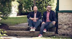 Christian Kölling und Mark Bauer vom Hotel Stern im Waldviertel (Fot: Philipp Anderl, beigestellt)