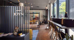 Lobby von Joyn Serviced Living in Wien (Foto: beigestellt)
