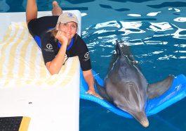 Camille Zodrow vom Clearwater Marine Aquarium (Foto: beigestellt)