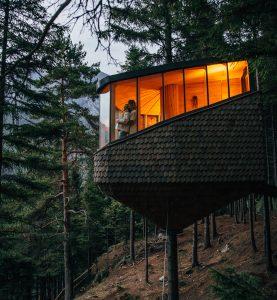 Woodhaus Baumhäuser in Norwegen Reisekompass