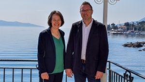 Martina Riedl und Andreas Madejski, Hotel Miramar (Foto: beigestellt)