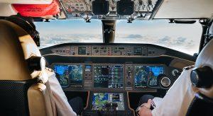 Blick ins Cockpit eines VistaJet-Fliegers (Foto beigestellt)