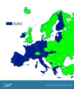 Bezahlen auf Reisen: Euro in Europa und alle anderen Währungen (© Reisekompass)