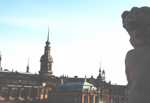 Blick auf den Zwinger in Dresden © Reisekompass